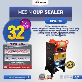 Jual Mesin Cup Sealer Manual CPS-818 di Solo