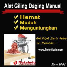 mesin giling daging manual 2 tokomesin solo