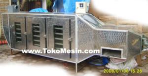 mesin oven pengering serbaguna (stainless-gas) 10 tokomesin solo