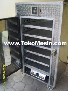 mesin oven pengering serbaguna (stainless-gas) 6 tokomesin solo