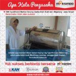 Jual Mesin Vacuum Frying Kapasitas 5 kg di Solo