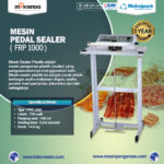 Jual Mesin Sealer Plastik Pedal Sealer di Solo