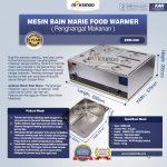 Jual Mesin Bain Marie Penghangat Makanan (EBM Type) di Solo