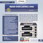 Jual Mesin Oven Listrik 2 Rak Harga Hemat (New) di Solo