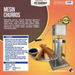 Jual Mesin Pencetak Churros (Spanyol) di Solo