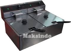 mesin deep fryer listrik 2 tokomesin solo