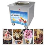 Jual Mesin Fry Ice Cream (Es Krim Roll Goreng) di Solo