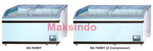 mesin sliding curve glass freezer 4 tokomesin solo