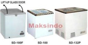 mesin sliding flat glass freezer 3 tokomesin solo