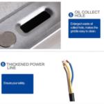 Jual Mesin Pemanggang Griddle (listrik) – EEG820 di Solo