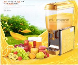 mesin juice dispenser 1 tabung 1 tokomesin solo