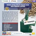 Jual Mesin Cetak Pelet Pakan Ikan dan Ternak Listrik – AGR-PL220 di Solo