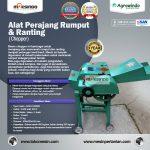 Jual Mesin Chopper Perajang Rumput Gajah dan Sejenisnya AGR-CH200B di Solo