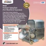 Jual Mesin Pemisah Tulang Ikan FSH33 di Solo