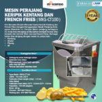 Jual Mesin Perajang Keripik Kentang dan French Fries – MKS-CT100 di Solo