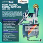 Jual Cetak Samosa, Pastel, Dumpling (CDS-120) di Solo
