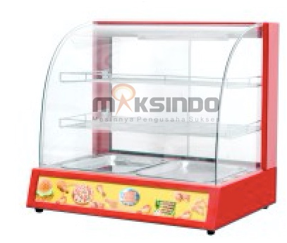 Mesin Diplay Warmer (MKS-2W) 1 tokomesin solo