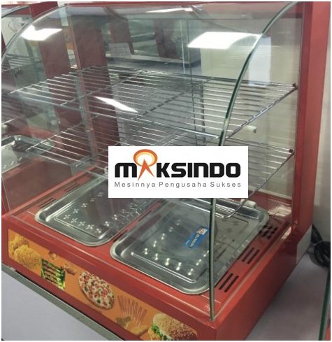 Mesin Diplay Warmer (MKS-2W) 4 tokomesin solo