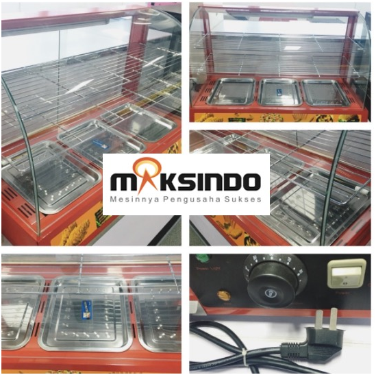 Mesin Diplay Warmer (MKS-3W) 2 tokomesin solo