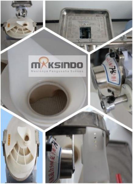 Mesin Pembagi Adonan Bulat (MKS-BA60) 3 tokomesin solo