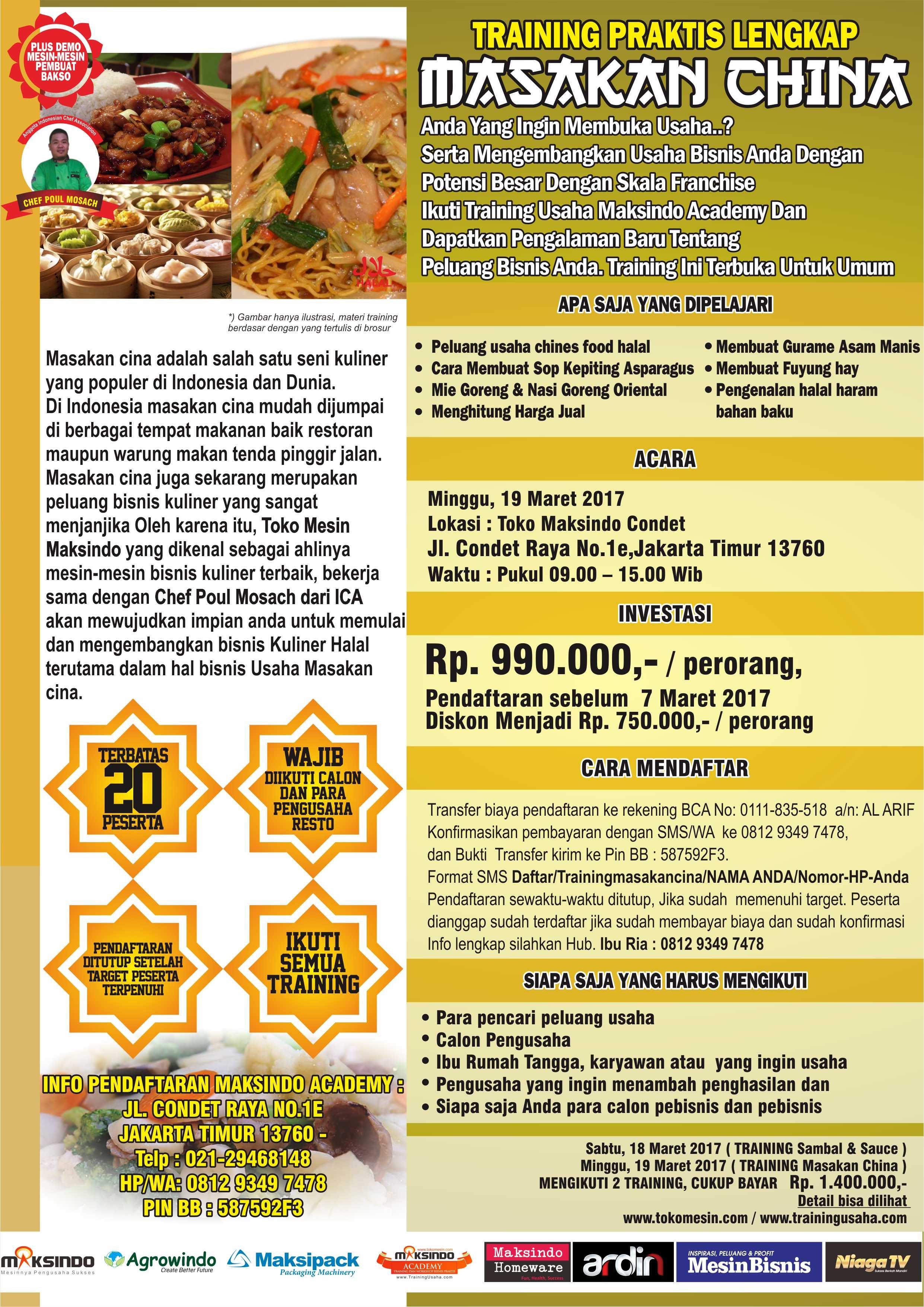 19-3-2017 TRAINING MASAKAN CHINA (1)