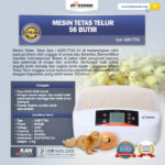 Jual Mesin Penetas Telur 56 Butir (AGR-TT56) di Solo