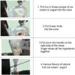Jual Mesin Blender Es Krim Yogurt Multifungsi di Solo