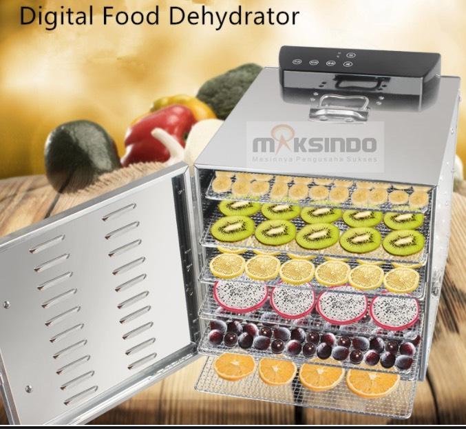 Mesin Food Dehydrator 6 Rak (FDH6) 2 tokomesin solo