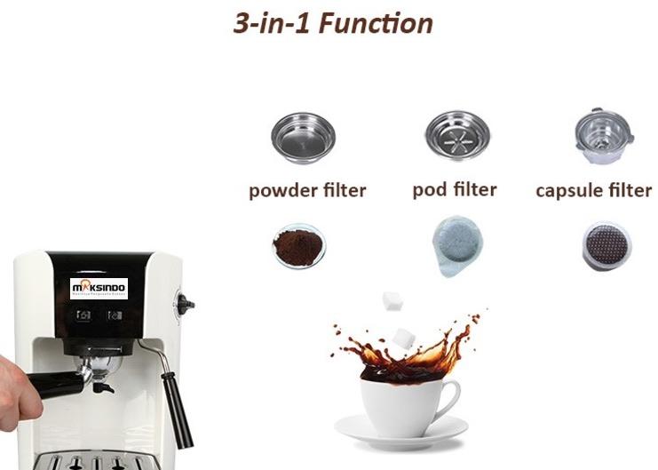 Mesin Kopi Espresso Semi Auto - MKP50 7 tokomesin solo