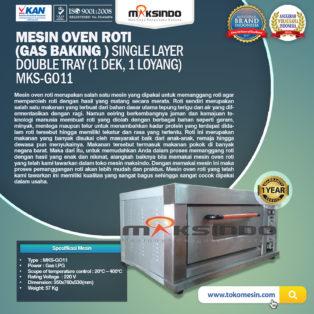 Jual Mesin Oven Roti Gas (MKS-GO11) di Solo