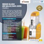 Jual Mesin Slush (Es Salju) dan Juice – SLH03 di Solo
