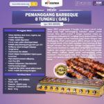 Jual Pemanggang BBQ (gas) 8 Tungku di Solo