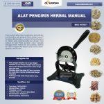 Jual Alat Pengiris Herbal Manual (MKS-HERB77) di Solo