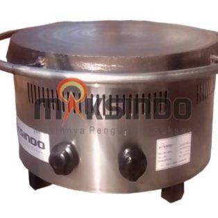 Jual Mesin Crepes Rotary Gas (MKS-CRP60) di Solo