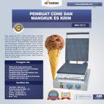 Jual Pembuat Cone dan Mangkuk Es Krim (CIC14) di Solo