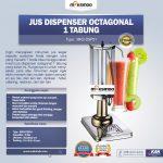 Jual Jus Dispenser Octagonal 1 Tabung (DSP31) di Solo
