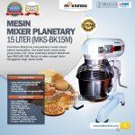 Jual Mixer Planetary 15 Liter New High Quality (MKS-BK15M) di Solo