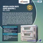 Jual Mesin Oven Roti Gas 4 Loyang (MKS-RS24) di Solo