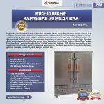 Jual Rice Cooker Kapasitas 70 Kg 24 Rak di Solo