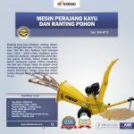 Jual Mesin Perajang Ranting Dan Kayu Basah – KP15 di Solo