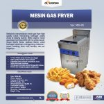 Jual Mesin Gas Fryer MKS-481 di Solo