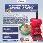 Jual Mesin Serutan Es Salju (Snow Ice) Taiwanese di Solo