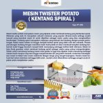 Jual Mesin Kentang Spiral (Twist Potato) di Solo