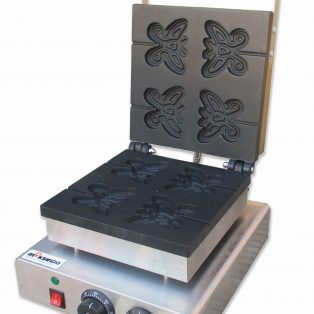 Jual Mesin Butterfly Shaped Waffle Maker (MKS-BFLYW12) di Solo