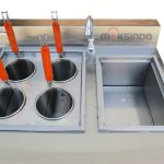 Jual Gas Pasta Cooker With Bain Marie (4 Baskets) MKS-PCBM4 di Solo