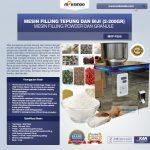 Jual Mesin Filling Tepung dan Biji (2-200 gr) di Solo