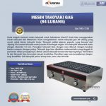 Jual Mesin Takoyaki Gas (84 Lubang) di Solo