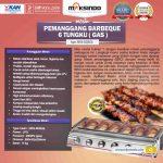 Jual Pemanggang BBQ Stainless (gas) 6 Tungku di Solo