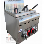 Jual Counter Top 2-Tank 2-Basket Gas Fryer di Solo