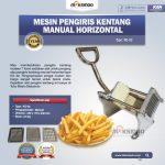 Jual Mesin Pengiris Kentang Manual Horizontal (KG-02) di Solo